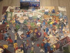 Beautiful puzzle 1000 pieces for Sale in San Bernardino, CA