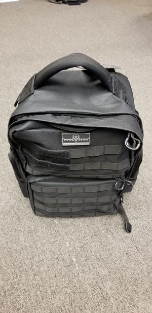Black tactical backpack for Sale in Baldwin Park, CA