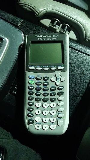 TI-84 Plus Silver Edition Graphic Calculator for Sale in Riverside, CA