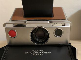 Polaroid SX-70 Original Chrome Instant Camera for Sale in San Diego,  CA