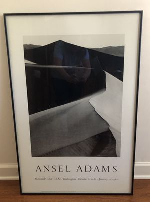 Ansel Adams Print with glass for Sale in Suwanee, GA