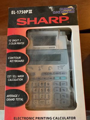 electronic printing calculator for Sale in Algonquin, IL