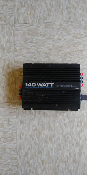 AMP 140W 4CH for Sale in Los Angeles, CA