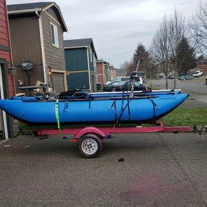 2man drift boat raft for Sale in Olympia, WA