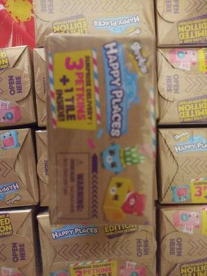 20 Shopkins each pk contains 3 Petkins and 1 tile for Sale in Virginia Beach, VA