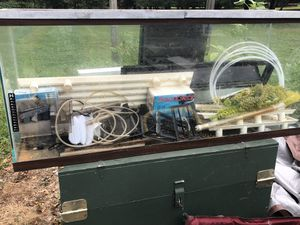 Fish tank set for Sale in Brookeville, MD
