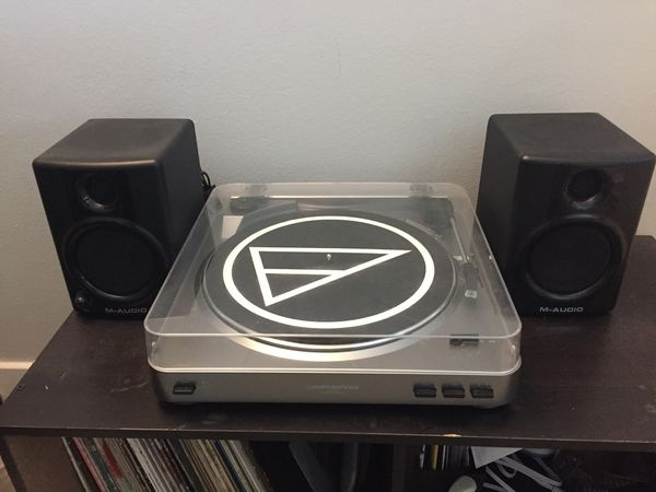 Audio Technica AT-LP60 (with speakers)