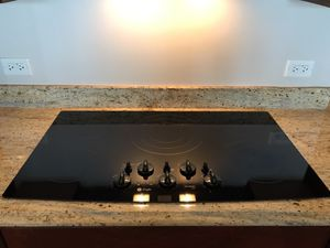 "GE Profile 36"" Built in Electric Cooktop - Black for Sale in Chicago, IL"