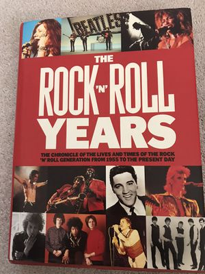 Coffe table book - Rock n Roll Years for Sale in Garland, TX