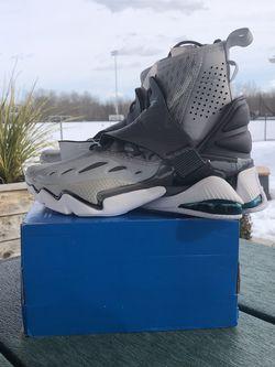 Reebok DMX Elusion 001 FT High Grey Teal EG1935 Basketball Shoes Sz 6 Men 8 Wmn for Sale in Philadelphia,  PA