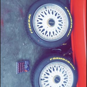 BBS Prime Withe Mesh 15s for Sale in Gonzales, CA
