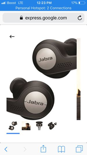 Jabari WIRELESS HEAD PHONES !! GREAT BUY 1 SINGLE PAIR AMAZING SOUND 10/10 for Sale in Fort Belvoir, VA