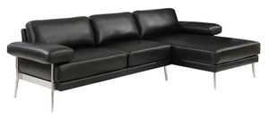 Black PU leather sofa sectional couch/Yes We Finance 😁 Message To Apply Today / No Credit Needed - Order Today! for Sale in Downey, CA