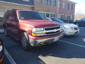 2003 Chevrolet Tahoe clean title runs and drives great no leaks no lights. for Sale in Fort Washington, MD