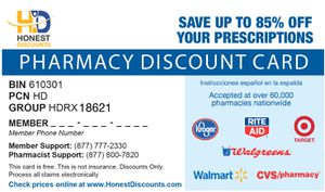Free pharmacy discount card for Sale in McDonough, GA