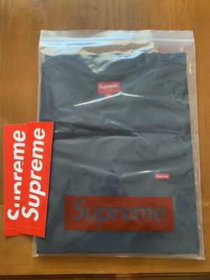 Supreme Small Box Tee Navy' for Sale in Haines City, FL