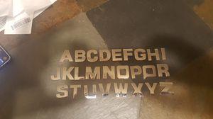 All Metal emblem letters for Sale in Bridgeton, NJ
