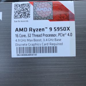 AMD Ryzen 5950x Brand New And Sealed for Sale in Mount Prospect, IL