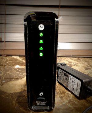 Arris sufboard cable modem 5g docsis3.0 for Sale in Arlington, TX