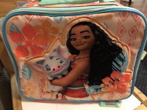 Moana lunchbox w tags for Sale in Fort Lauderdale, FL