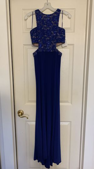 David's Bridal royal blue dress for Sale in Goodyear, AZ