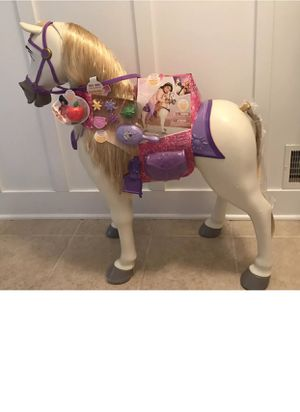 Disney Princess Rapunzel Maximus Playhorse with live sounds for Sale in Marietta, GA