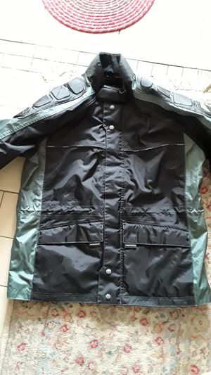 First Gear Reflective Motorcycle Rain Jacket for Sale in Salt Lake City, UT