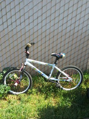 Girls white huffy bike with pegs for Sale in Fresno, CA