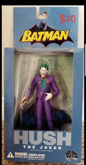 THE JOKER Batman Hush Series DC Direct action figure NEW for Sale in Covina, CA