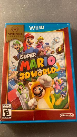 Super mario 3d world nintendo wii u for Sale in Orange, CA