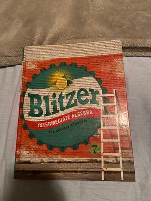 Blitzer Intermediate Algebra for Sale in Chino, CA
