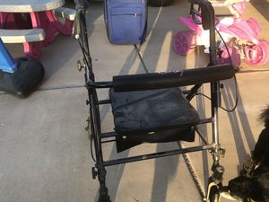 Walker with basket and seat for Sale in Glendale, AZ