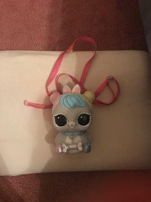 Lol Doll Pet backpack piggy bank. for Sale in Pennsauken Township, NJ