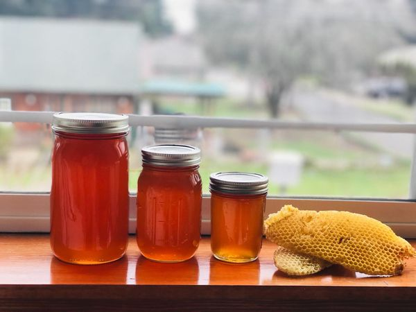 Really raw local honey