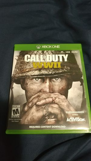 Call of duty WWII Xbox One for Sale in Lake Stevens, WA