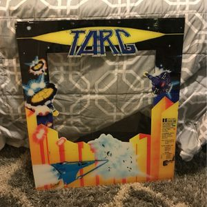 Exidy TARG Arcade Game PlexiGlass Cabaret Bezel Pinball Backglass for Sale in Yorba Linda, CA