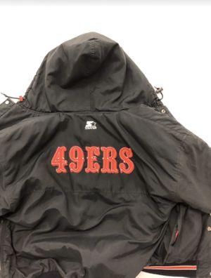 USED!!! VINTAGE STARTER 49ers jacket for Sale in Gaithersburg, MD