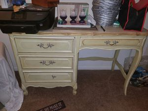 Antique French Provencial desk vanity for Sale in National City, CA