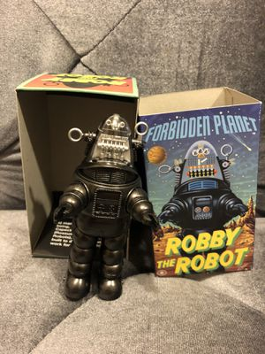 "Masudaya Forbidden Planet ROBBY THE ROBOT 1997 Wind Up Toy 4.5"" Made in Japan for Sale in Fresno, CA"