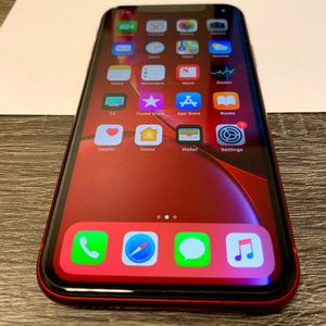 iPhone XR 64 GB red - AT&T, Cricket & Straight Talk. for Sale in Burbank, CA