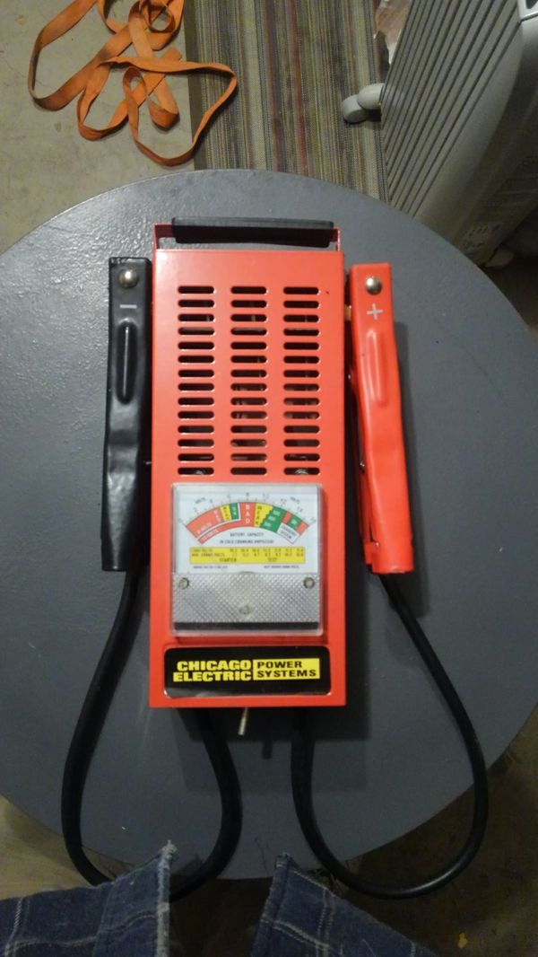 Chicago Electric Battery Load Tester