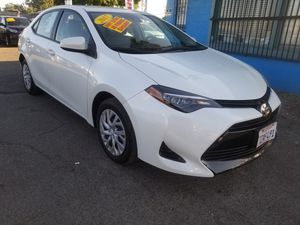 2017 TOYOTA COROLLA LE AUTOMATIC TRANSMISSION. LOW MILLAGE. ZERO TO LOW DOWNPAYMENT REQUIRED for Sale in Modesto, CA