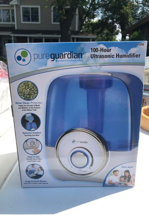 Pure guardian Ultrasonic Humidifier for Sale in Elk Grove Village, IL