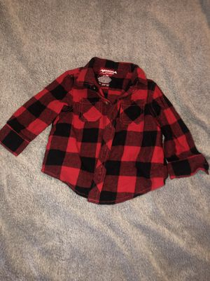 ARIZONA JEANS CO. PLAID RED INFANT FLANNEL for Sale in Pasadena, CA