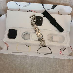 Apple Watch Series 5 GPS + Cellular LTE w/ AppleCare Warranty for Sale in Roseville, CA