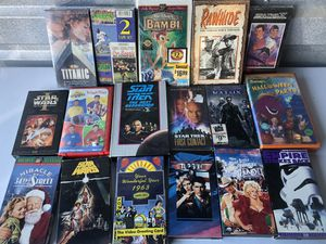 VHS's. Some New (Lot) $25 for Sale in Virginia Beach, VA