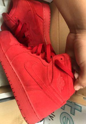 Jordan's 1s suede red for Sale in Las Vegas, NV