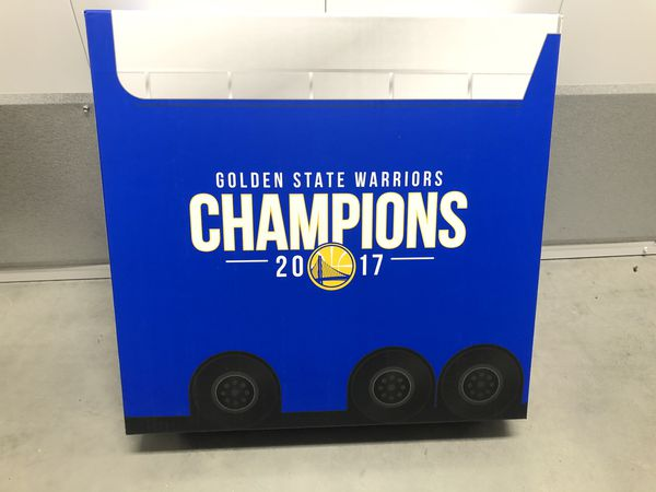 Golden State Warriors 2017-18 Bobblehead Set NBA Champions *NEW AND UNOPENED *