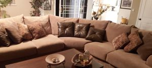 Large comfortable sectional micro fiber couch for Sale in US