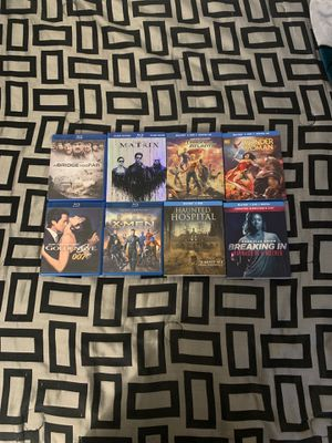 Blu-ray's, movies, animated, action, horror, suspense for Sale in Los Angeles, CA